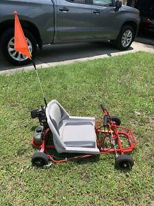 Go-Ped Super Go-Quad 30cc Goquad Go Kart Gokart  Goped