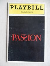 March 1994 - Plymouth Theatre Playbill - Passion - Donna Murphy - Jere Shea