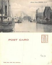 USA New York - Buffalo - Harbor Scene YEAR 1900 CA. (A-L 577)
