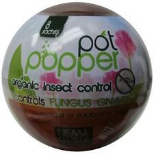Nema Globe 4004222 8 x 1 Million Beneficial Nematodes Pot Popper Organic Indo.