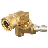 Pivoting Coupler for Pressure Washer Nozzle Gutter Cleaner Attachment for  O7A4