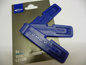Schwalbe Pack of 3 Tyre levers Plastic Durable lightweight New Bike Cycle Tools