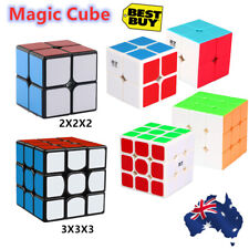 Hot 2X2X2 3X3X3 Magic Cube Rubix Rubik Puzzle Super Smooth Fast Speed Cube Toy
