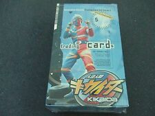 NEW Sealed Box 2001 Generation Kikaida Trading Cards Series I