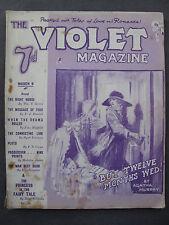 UK Pulp Magazine - THE VIOLET MAGAZINE  No. 14  Mar 9, 1923