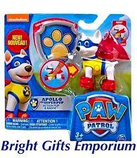 Paw Patrol Apollo Badge Action Super Pup Skye Everest Birthday Boy Girl Gift