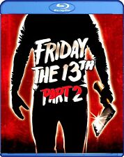 """""""FRIDAY THE 13th- PART 2 (1981)"""" Widescreen Horror/Slasher/Gore BLU RAY (2009)"""