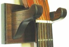 Walnut Guitar Hanger Wall Mount Display