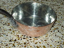 """Baumalu Hammered Copper (7.25"""") Sauce Pan Tin lined 2mm  NEW"""