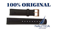 NAUTICA AUTHENTIC BAND/STRAP GOLD BUCKLE 22mm A14556G A24531G N17526G A19527G