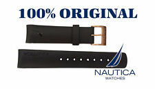 NAUTICA REPLACEMENT BAND BLACK GOLD BUCKLE  A14556 N14536 N17526 A19527 N20065