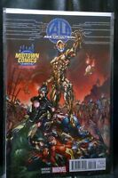 Age of Ultron #1 Midtown Exclusive J Scott Campbell Color Variant Cover NM