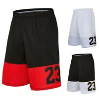 Mens MJ Michael Legend 23 Jordan Shorts Basketball Pants Elite Breathable Sport
