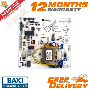 Baxi Combi 80 105 HE Potterton Performa System 18 24 28 - PCB - 5112380 - Used