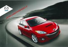 2010 MAZDASPEED 3 PROSPEKT BROCHURE CATALOGUE ENGLISCH (USA)