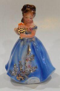 Josef Originals DEBUTANTE with CANDELABRA Figurine CAREER GIRL series