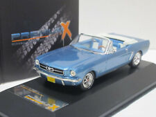 Ford Mustang Convertible 1965 blue 1/43 Premium X PRD250