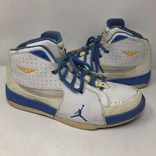 Nike Air Jordan Melo M6 Blue White Carmelo Anthony 375372-141 Men's Size 14