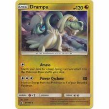 Drampa 97/145 Sm Guardians Rising Pokemon Reverse Holo Card New Mint