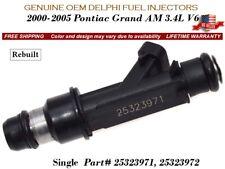 AUTHENTIC! Delphi 6//Pack Fuel Injectors ^2000-2005^ Pontiac Grand Am 3.4L V6