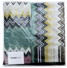 MISSONI HOME SET ASCIUGAMANI SPRINGTIME COLLECTION TAYLOR 100  TOWELS SET