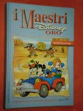 MAESTRI DISNEY- SERIE ORO- cartonato- SPECIALE ROMANO SCARPA-edizioni disney