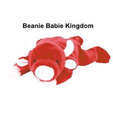 Ty Beanie Baby * SNORT * the Red and White Bull - Beanie Babie