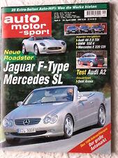 AMS 9-00+AUDI A2 & A6+MORGAN AERO+SEAT AROSA+BMW 530+COROLLA+ALMERA+MERCEDES