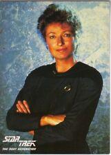 Star Trek TNG Dr Pulaski 4 x 5 1/2 Postcard #14 UK 1989