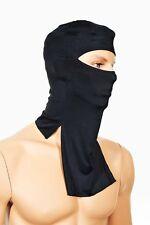 Motocicletta Cappuccio face faccia mask Hood 1 SIZE SENIOR, Ninja Costume