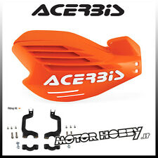 PARAMANI ACERBIS  X-FORCE CROSS ENDURO MOTARD ARANCIO 2 1 + KIT MONTAGGIO