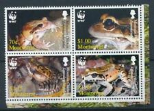 [312104] Montserrat Frogs good set of stamps very fine MNH