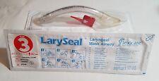 2x Flexicare LarySeal Laryngeal Mask Airway Sterile size 3  Ref 038-94-330U