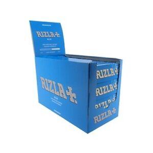 NEW 20 X RIZLA BLUE SMALL CIGARETTE ROLLING GENUINE PAPERS ORIGINAL