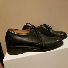 Mens Black Dress Elevator Shoes-Increases Height 2 3/4 inches-sz 8-Gd Condition