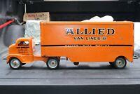 Tonka Ford COE (Cab Over Engine) Allied Transport Semi Truck Pressed Steel