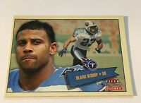Blain Bishop Titans 2001 Fleer Tradition Glossy #83
