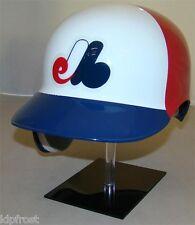 MONTREAL EXPOS Full Size 3 Color Throwback Batting Helmet - Left Handed Batter