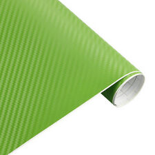 3D Waterproof Carbon Fiber Vinyl Car Wrap Sheet Roll Film Stickers Decal Paper