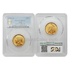 Italy 1931R Vittorio Emanuele III 50 Lire Gold PCGS MS65