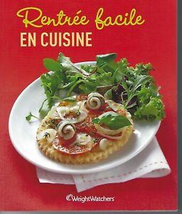 """Livret de  recettes Weight Watchers  """"Rentrée facile en cuisine """" Propoints"""