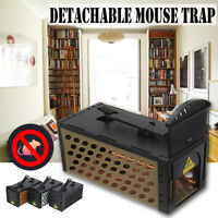 Detachable Mouse Trap Humane Live Catcher Rat Vermin Rodent Cage Traps Pes