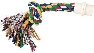 Parrot Perch Pet Bird Booda Chomp Preen Byrdy Bush Rope