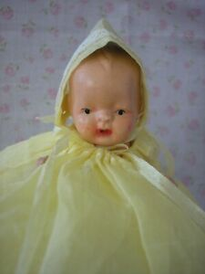 Nancy Ann Storybook baby doll- w/gorgeous outfit & hat