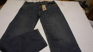 Levi's 550 Relaxed Fit Tapered Leg Mens Medium Blue Sit At Waist Jeans 38x36 New