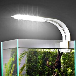 Aquarium Fish Lights Plant grow Tank Light 10W LED Super Slim Clip-on Lamp IPX7