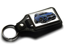 Cartoon Car Sportage GT Line Sport SUV Leather and Chrome Keyring