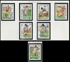 VIETNAM N°670/676** Football Mexico 1986, Vietnam World Cup Soccer set MNH