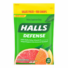 New listing Halls Defense Citrus Sup 180 C N/A N/A Harda Candy Size Os