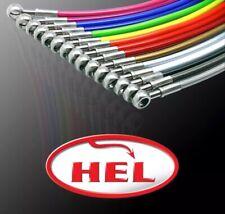 HEL PERFORMANCE Braided Brake Lines For CITROEN C1 1.0 2005-